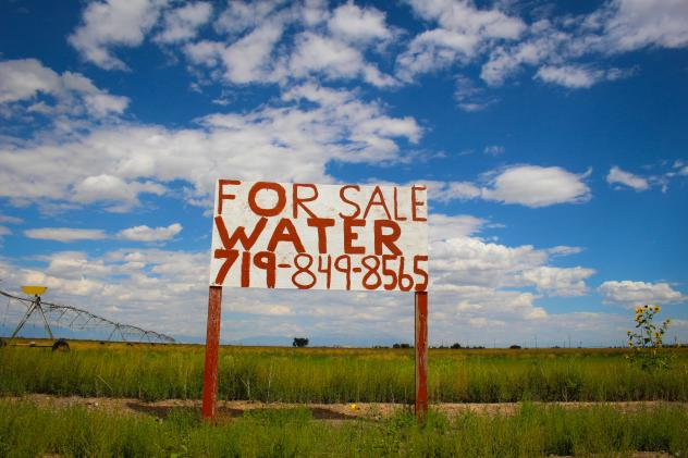 """Opting to pay extra fees for water can be expensive, says potato farmer Doug Messick, """"but the big picture is you stay in business, you keep your community whole and everyone gives a little."""""""
