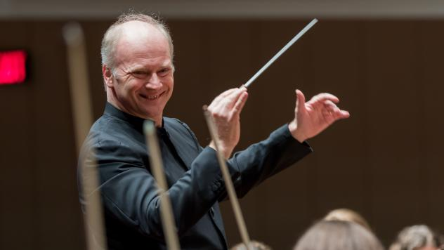 Gianandrea Noseda recently began his debut season conducting the National Symphony Orchestra.