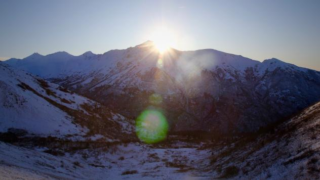 The view from Mt. Eklutna in Chugach State Park. For Black Friday, the $5 parking fee is waived at Chugach and several other parks — from Mount Ascutney State Park in Vermont to Mount Rainier National Park in Washington.