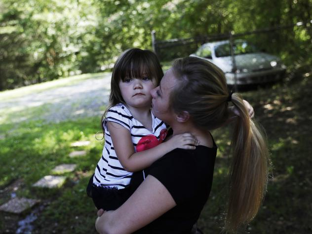 Whitney Duncan was given the choice of sending her daughter, Deklyn, 3, to stay with her grandmother in Jasper, Ga., while she entered rehab or lose her to foster care.