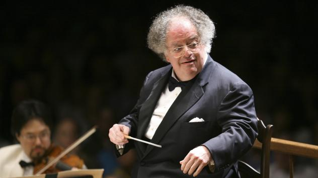 Former Boston Symphony Orchestra music director James Levine, conducts the symphony on its opening night performance at Tanglewood in Lenox, Mass., in 2016. Levine, who was also the music director of New York's Metropolitan Opera, has been accused of sex