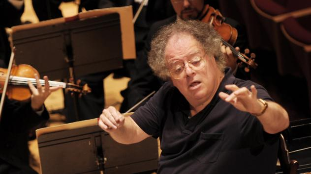James Levine, shown leading the Boston Symphony Orchestra in 2007, has been suspended by the Metropolitan Opera following allegations of sexual abuse.