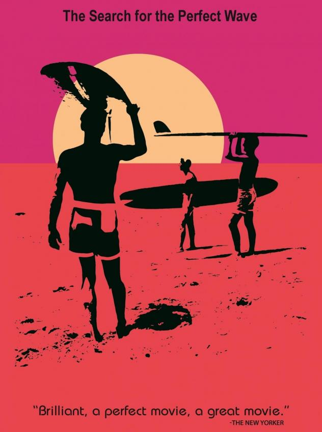 The immortal film poster for <em>The Endless Summer</em>, which you may recognize from New York's Museum of Modern Art, not to mention college dorm room walls across the country.