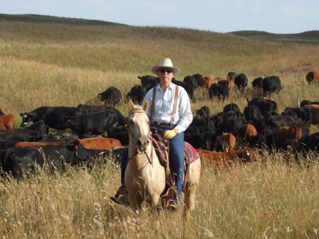 """James Dinklage, a cattle rancher from Nebraska, is one of the plaintiffs in a lawsuit filed Thursday. The suit accuses the USDA of """"arbitrary and capricious"""" behavior in rolling back two Obama-era rules designed to protect small farmers, who say they are"""