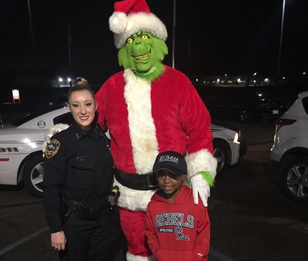 Five-year-old TyLon Pittman thought the Grinch was going to steal Christmas, so he called the police in Byram, Miss. Officer Lauren Develle wanted to assure TyLon that the police department had it under control, so she set up an arrest of the mean, green