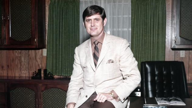 Rick Hall in his office at FAME Studios in 1968 in Muscle Shoals, Ala.