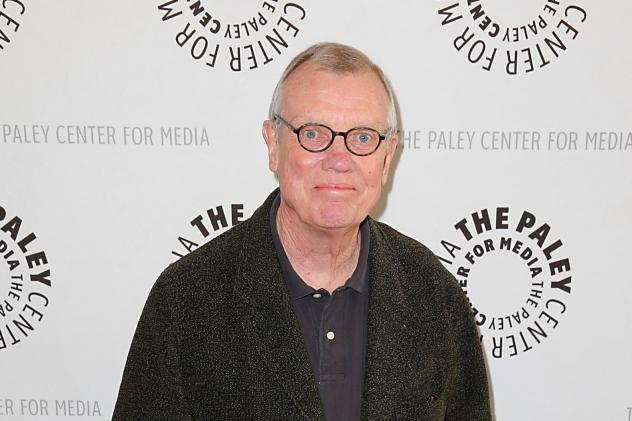 Hugh Wilson arrives at a <em>WKRP In Cincinnati</em> Reunion at The Paley Center for Media on June 4, 2014 in Beverly Hills, Calif. Wilson, who created the sitcom, has died at 74.