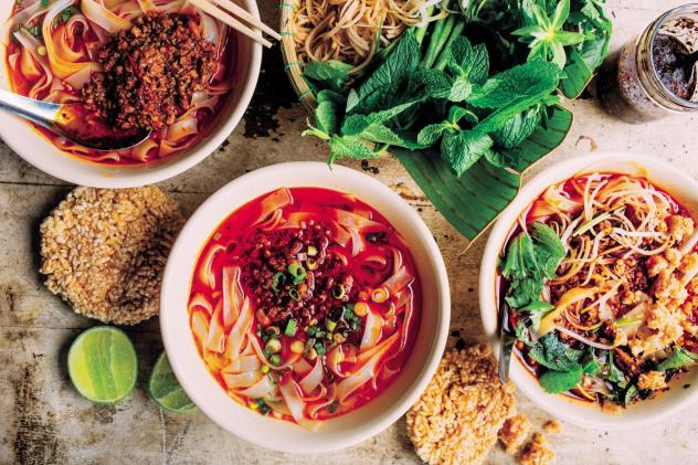"""Chef James Syhabout says <em>Hawker Fare</em> isn't the definitive Lao cookbook and is in no way meant to be. But he is a champion of Lao food because """"It's the little country that could"""""""