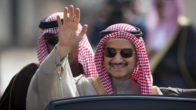 Saudi billionaire Prince Alwaleed bin Talal, seen here in 2014, was released on Saturday from a nearly three-month detention at the Riyadh Ritz-Carlton.