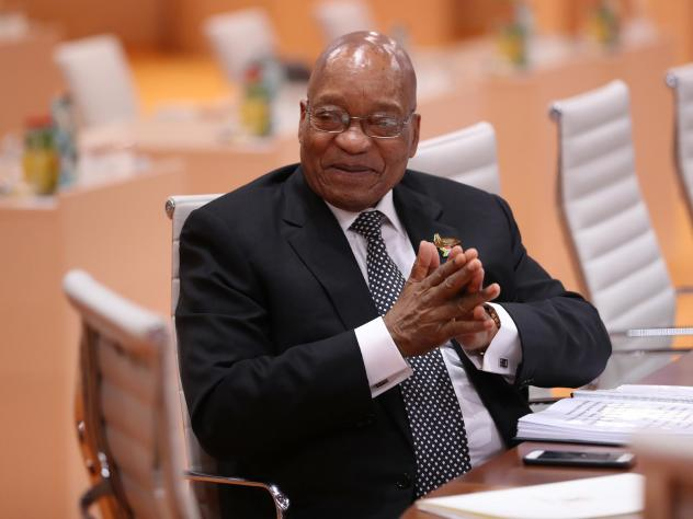 Zuma's Office Denies Claim He Plans to Fire Ramaphosa as Deputy