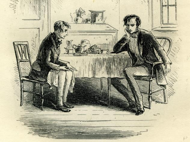 In <em>Dinner with Dickens</em>, British food historian Pen Vogler combines her twin passions for English food and Charles Dickens to recreate 60 Victorian dishes that feature either in his novels or his life.