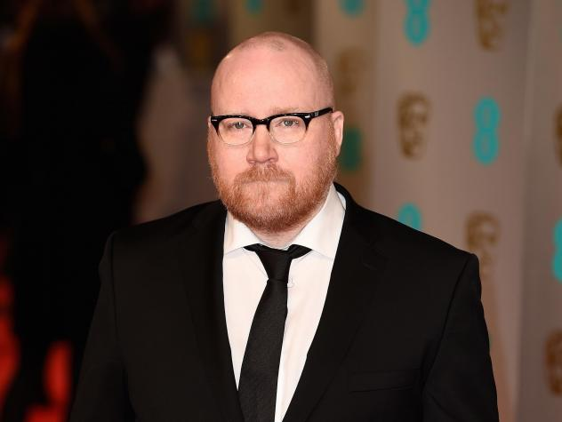 Jóhann Jóhannsson at the 2015 BAFTAs, where he was nominated for the music he composed for the film <em>The Theory of Everything.</em>