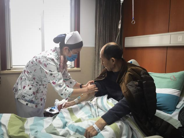 """""""If they have not received this treatment they will die — most of them will die in three to six months,"""" says Dr. Shixiu Wu."""