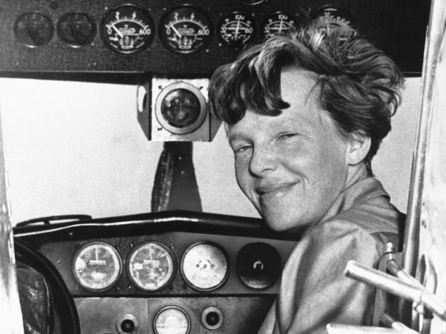 The simplest theory about what happened to Earhart and navigator Fred Noonan is that they simply ran out of fuel and crashed into the Pacific Ocean.