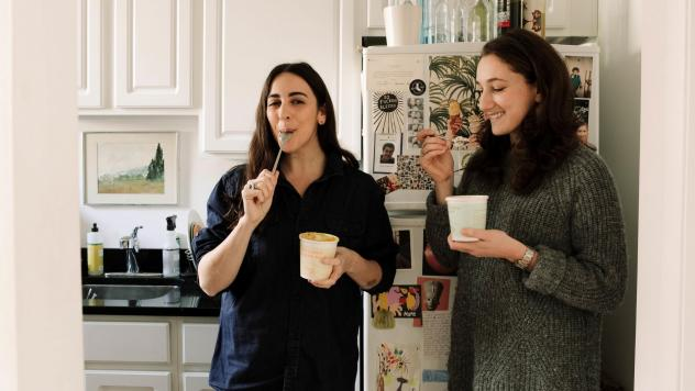 Atara Bernstein, left, and Ariel Pasternak, founded Pineapple Collaborative to create a space for women in food to share ideas.
