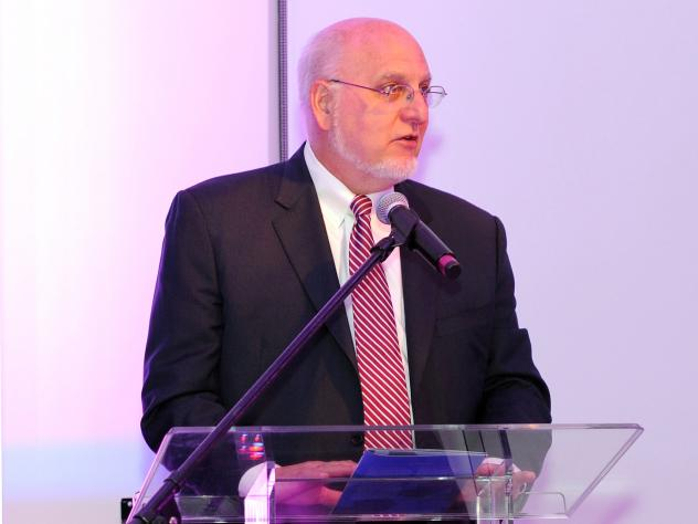 """Dr. Robert Redfield, named CDC director Wednesday, spoke during the Aid for AIDS """"My Hero Gala"""" in New York City in 2013."""