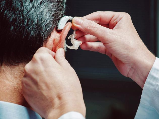Under current law, Medicare generally reimburses audiologists for diagnosing hearing loss in older adults but not for providing assistance to fit, adjust and teach the best way to use them.