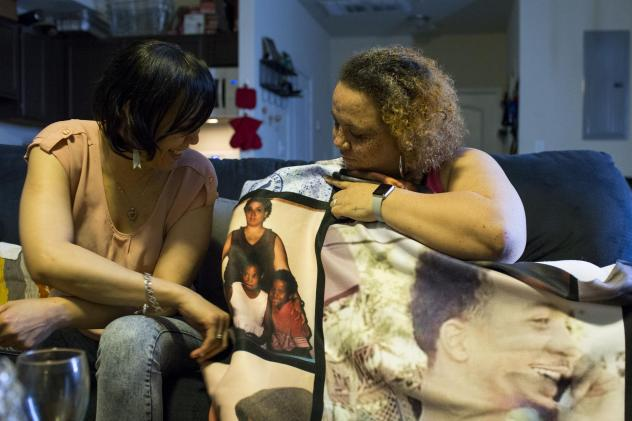 "Both the father of Stacy Coffin's son and the father of her daughter were shot and killed in southeast Washington more than a decade ago. Her nephew Maleak died from gunshot wounds in December.  ""I promised him...I would tell the world about him, that's"