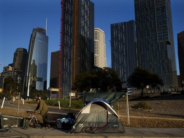 The Los Angeles Homeless Services Authority found the homeless population ballooned to 57,794 in 2017. A new pilot program seeks to pay homeowners to create housing for those in need.