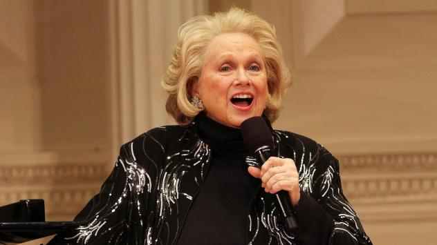 Barbara Cook performs at the 2014 New York Festival of Song at Carnegie Hall on April 28, 2014 in New York City.