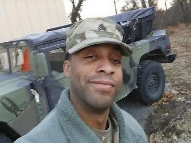 Howard County Police officials said rescuers pulled the body of Army National Guardsman, Sgt. Eddison Hermond, from the Patapsco River Tuesday.