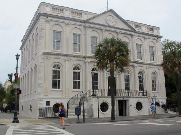 "Charleston's City Council approved a resolution apologizing for its ""role in regulating, supporting and fostering slavery and the resulting atrocities inflicted"" as a result. Tuesday's vote took place in Charleston's City Hall — which was built by slav"
