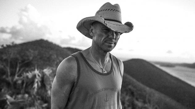 Kenny Chesney walks around the island of St. John after Hurricanes Irma and Maria.