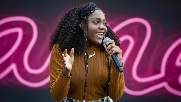 Noname performs at RBC Bluesfest at LeBreton Flats in Ottawa, Canada in July 2018.