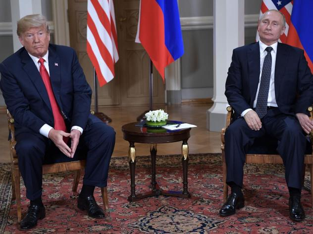 President Trump met with Russia's President Vladimir Putin in Helsinki on July 16. The two leaders may not meet again one-on-one until next year.