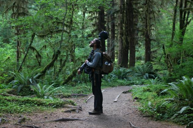 Near Hoh River Trail in Washington state's Olympic National Park.