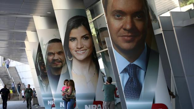 The National Rifle Association, which held its annual meeting in Dallas in May, has filed a lawsuit against New York state officials claiming they are pressuring financial institutions to stop doing business with the organization.