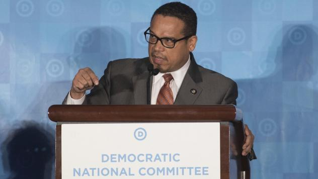 Rep. Keith Ellison, D-Minn., the deputy chair of the Democratic National Committee, is facing allegations of domestic abuse, which he denies. The DNC says it is reviewing the claims.