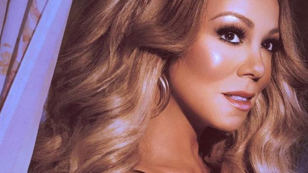 "Mariah Carey on the cover of her ""GTFO"" single."