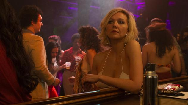 Maggie Gyllenhaal stars as a sex worker who gets off the streets by becoming an actress in — and then a director of — porn films in HBO's<em> The Deuce. </em>She's also a producer on the series.<em> </em>