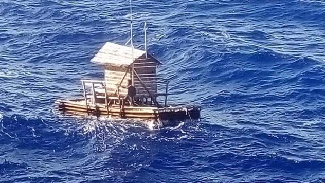 Indonesian teenager rescued after drifting 7 weeks at sea