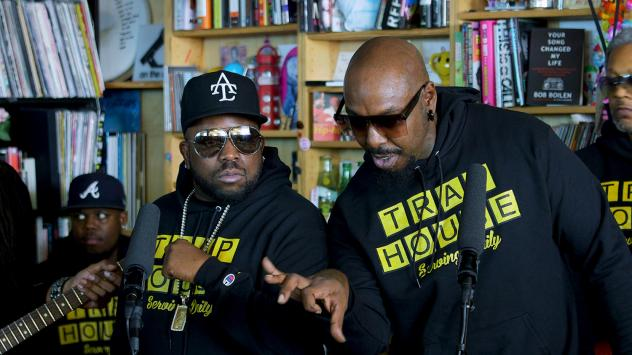 Big Boi performs a Tiny Desk Concert on Oct. 1, 2018.