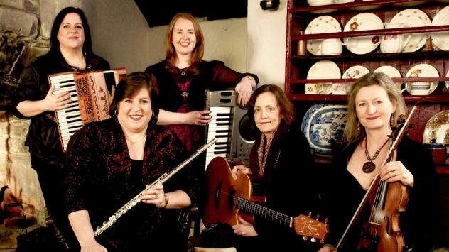 This week's episode of <em>The Thistle & Shamrock</em> features music by Cherish the Ladies.