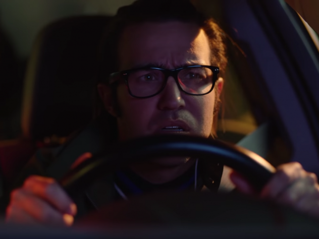 "Fall Out Boy's Pete Wentz stars in the new video for the Weezer song ""Can't Knock The Hustle."""