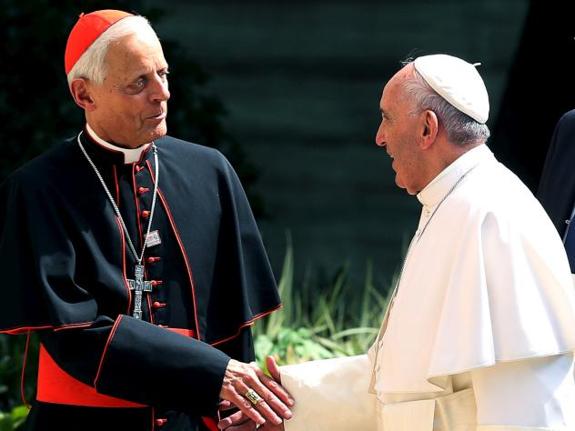 Pope Francis has accepted the resignation of the archbishop of Washington, Cardinal Donald Wuerl. The two met in 2015 during the pope's visit to Washington, D.C.
