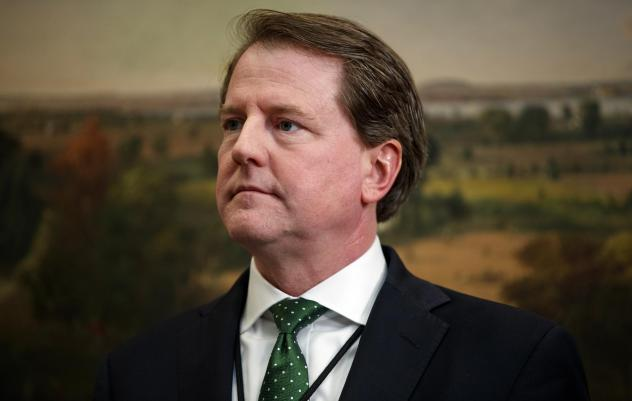 Don McGahn left his position as White House counsel Wednesday, a move that had been announced in August.