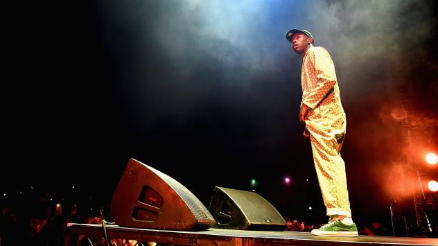 """Tyler, The Creator contributes not only a new version of <em>The Grinch</em>'s theme song, but also an original track, """"I Am the Grinch."""""""