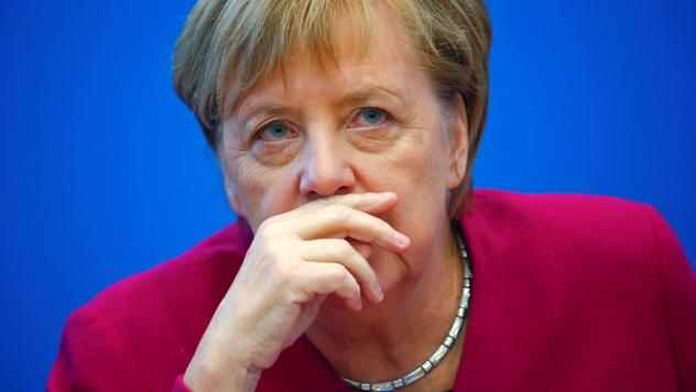 German Chancellor Angela Merkel says she is stepping down from leading her party, announcing her decision after the Christian Democratic Union's recent election struggles.