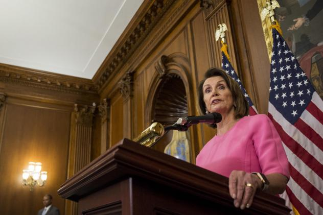 House Minority Leader Nancy Pelosi, D-Calif. holds a news conference following the 2018 midterm elections on Nov. 7, 2018. Pelosi expects to lead the House Democrats and plans an agenda focused on promoting campaign finance reform, an expansion of voting