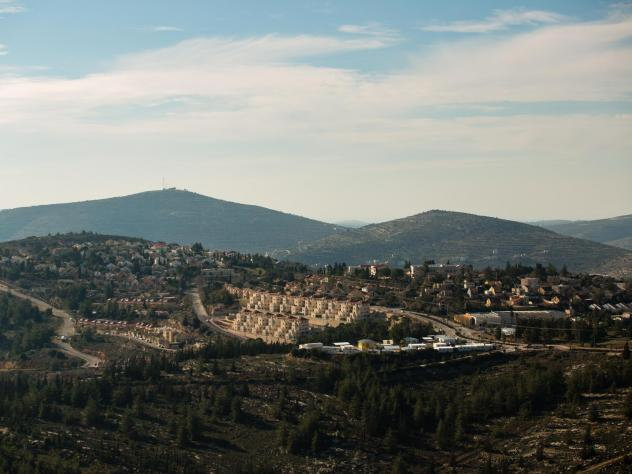 Some residents of the Israeli settlement Eli, shown here in 2016, have been renting out properties there using Airbnb.