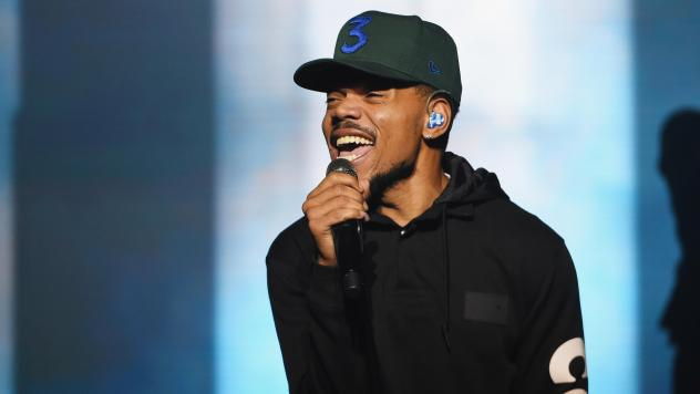 Chance The Rapper performs during Spotify's RapCaviar Live in Brooklyn, New York.