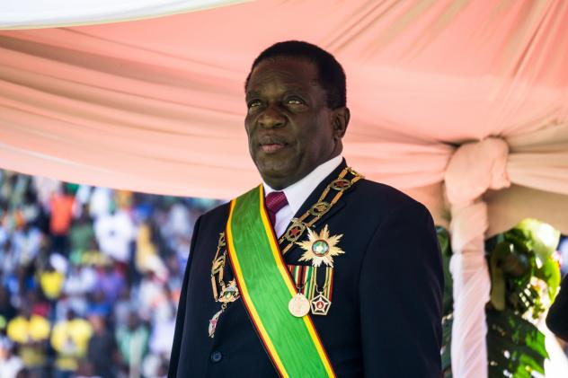 After 37 years of autocratic rule under Robert Mugabe, President Emmerson Mnangagwa promised a democratic era for Zimbabwe. But his government penalizes criticism.