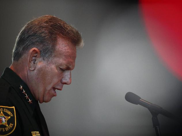 Broward Sheriff Scott Israel refused to resign for nearly a year but on Friday, he was suspended and replaced by former Coral Springs Police Department Lt. Gregory Tony.