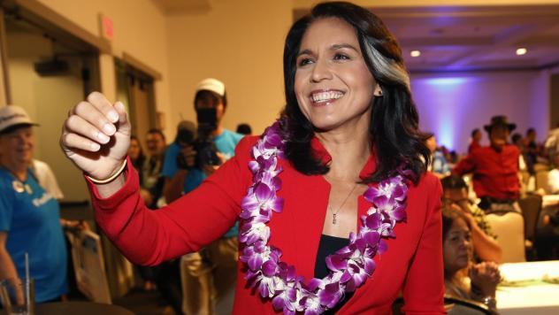 Rep. Tulsi Gabbard, D-Hawaii, has announced she's running for president in 2020. The 37-year-old Gabbard said in a CNN interview slated to air Saturday night that she will be formally announcing her candidacy within the week.