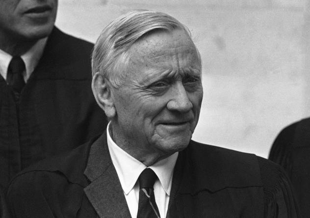 Supreme Court Justice William O. Douglas in an undated photo.