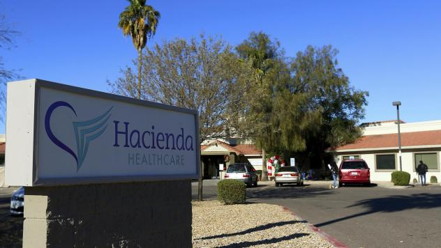 A 29-year-old incapacitated patient at Hacienda HealthCare in Phoenix gave birth in December.